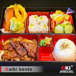 OKI Japanese Grill_Galbi bento