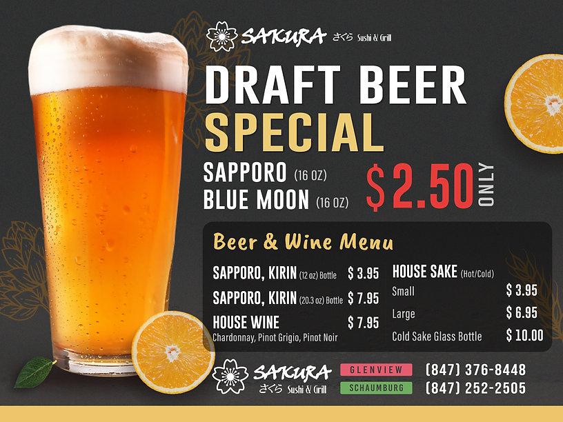 Sakura Sushi Glenview & Schaumburg_Draft Beer Special 1200x900_July 2021.jpg