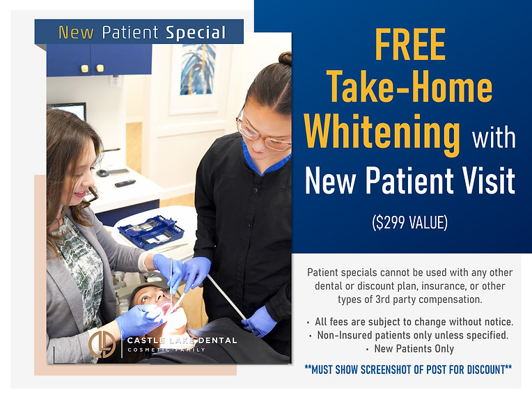 Castle Lake Dental_New Patients Specials