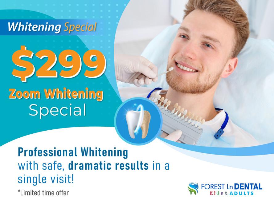 Forest Lane Dental_Whitening Special_$299