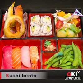 OKI Japanese Grill_sushi bento