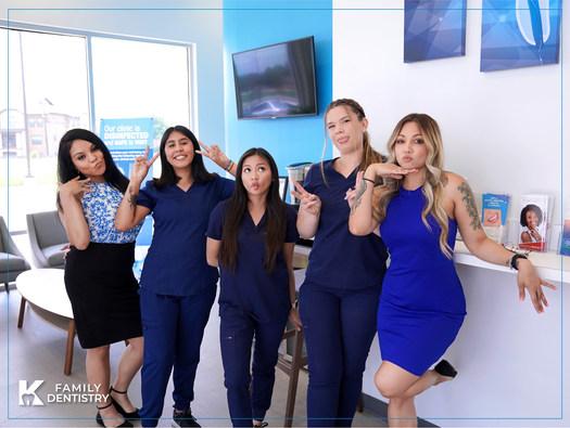 K Family Dentistry General Cosmetic Emergency Implants