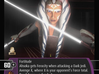Ahsoka Tano (I) | SWTCG Card of the Week