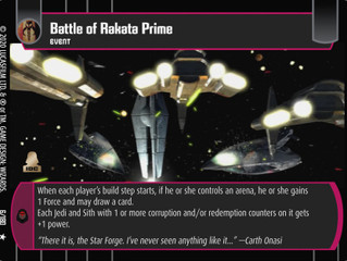 Battle of Rakata Prime | SWTCG Card of the Week