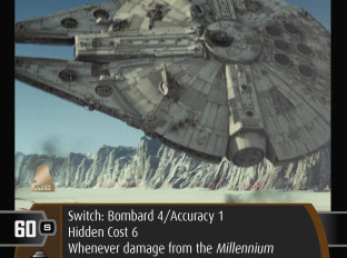 Millennium Falcon (A2) | SWTCG Card of the Week