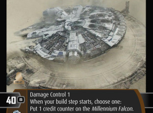 Millenium Falcon (D2)   SWTCG Card of the Week
