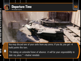 Departure Time | SWTCG Card of the Week