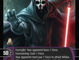 Sith Triumvirate | SWTCG Card of the Week