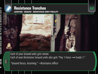 Resistance Trenches | SWTCG Card of the Week