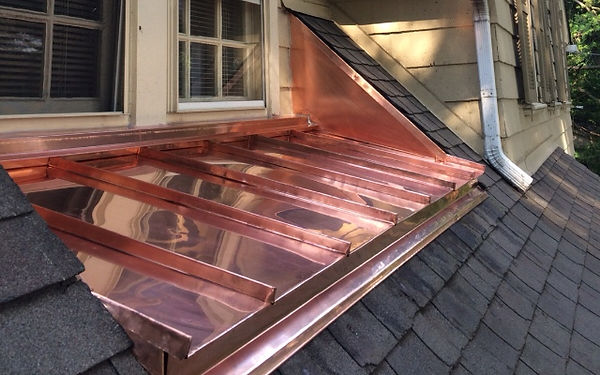 Copper roof, Media PA 19063 - Bonner Master Roofing