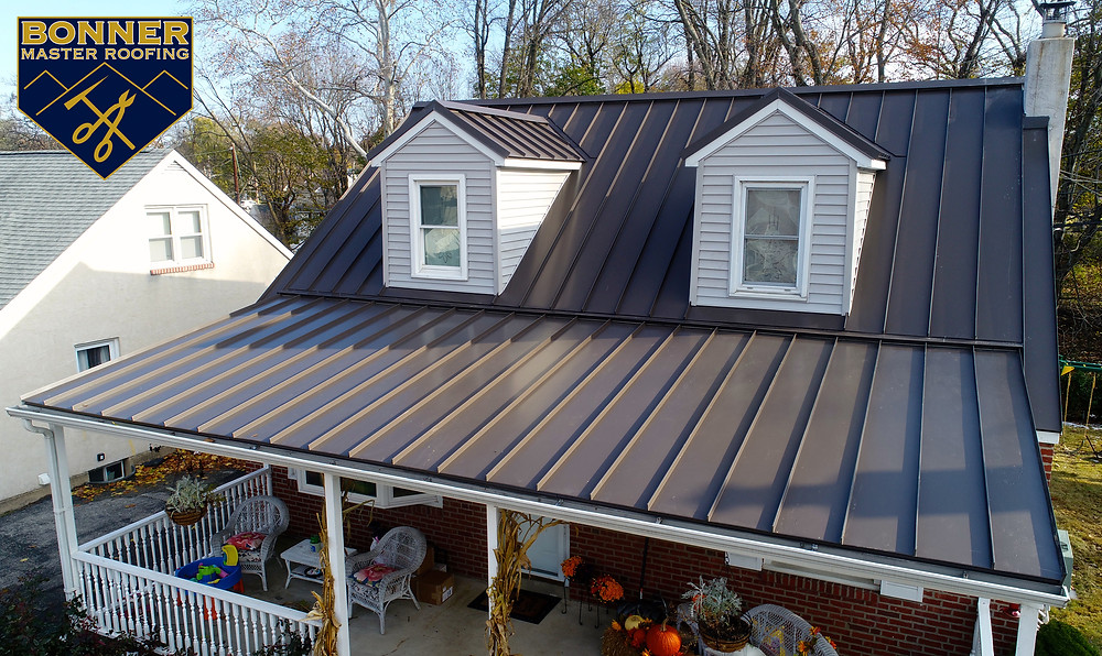 Standing Seam Metal Roof in Swarthmore, PA 19081