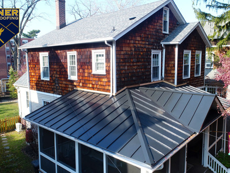 Metal Porch Roofs - Bonner Master Roofing