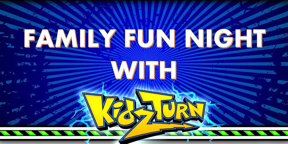 Family Fun Night with KidzTurn