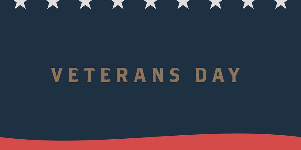 Veteran's Day Special Service
