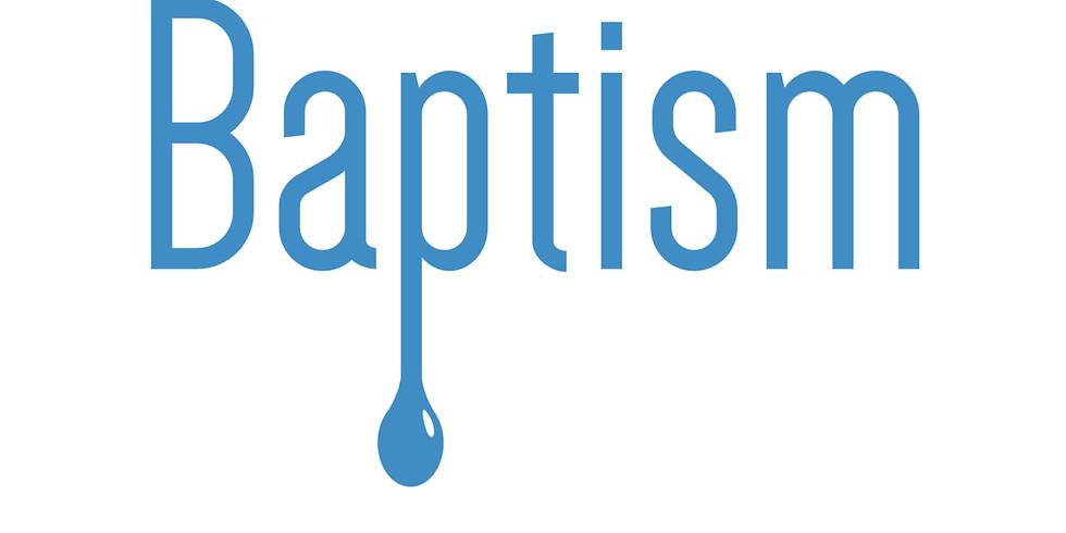 Water Baptism September 23rd