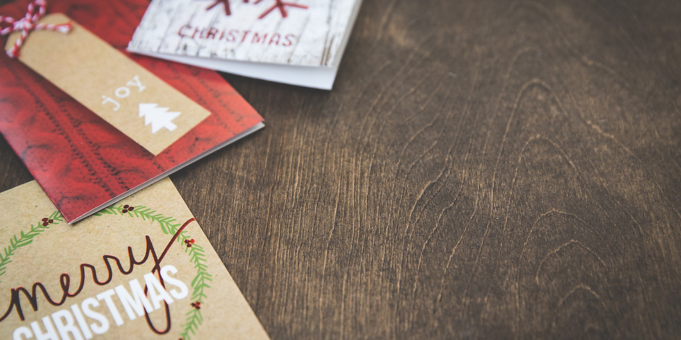 Christmas Card Craft-A-Thon