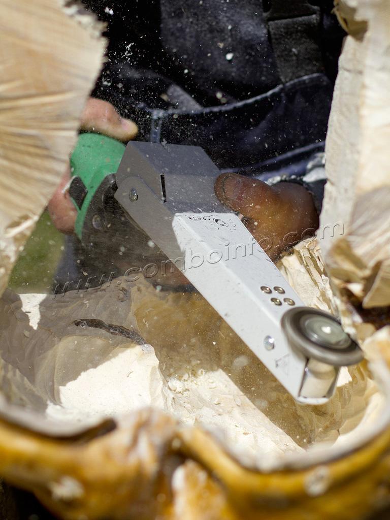 Насадка Комбо Wood Выбока в капе