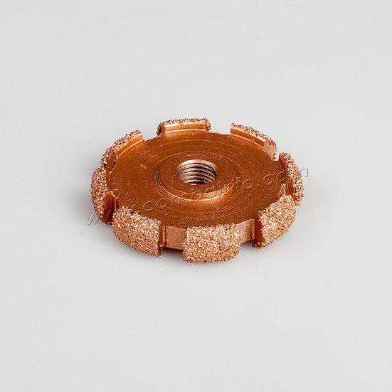 купить абразивное колесо шлифовка выборки в капе woodtools