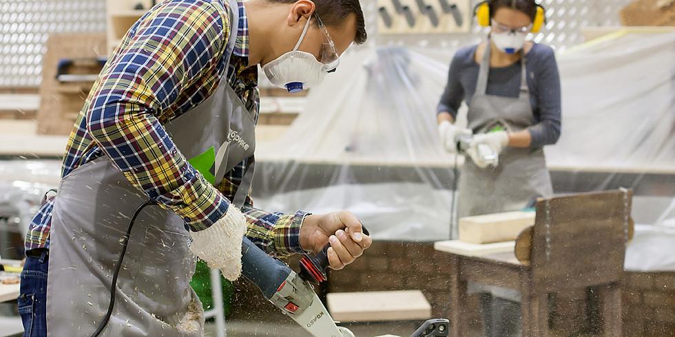 Мастер-класс - Изготовление вазы из массива дерева