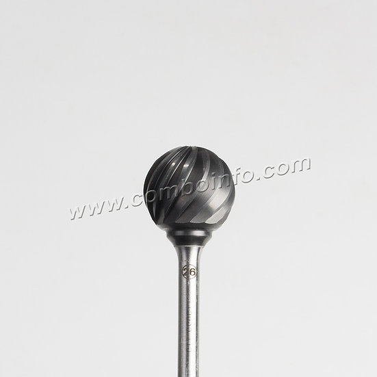БорФреза твердосплавная №26 - шар 25 мм, Karnasch 115035.115