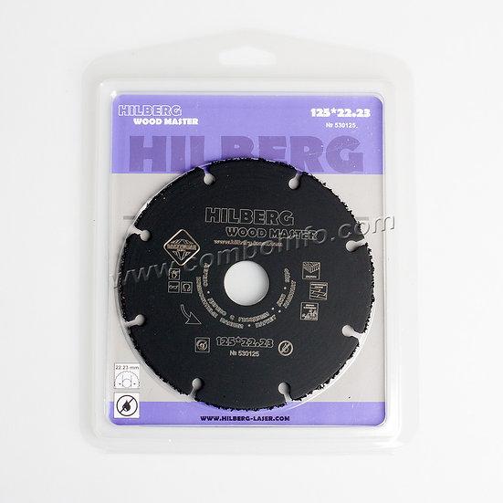 Отрезной диск Hilberg 125 мм - Wood Master купить в москве