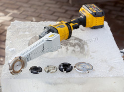 Инструмент скульптура из льда