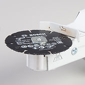 Гайка №1 для гриндера комбо устанавливать отрезной диск по дереву Bosch Multi Wheel