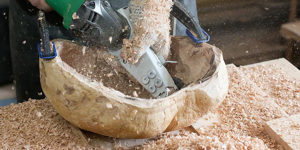 Мастер-класс - Изготовление посуды из массива дерева