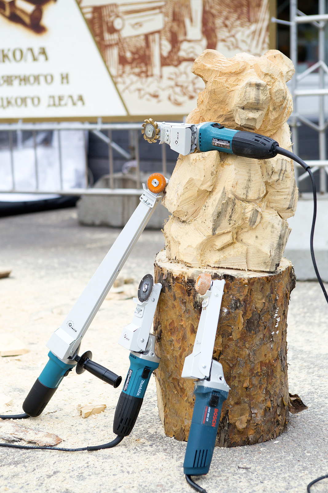 Комбо Wood - Модификации насадок