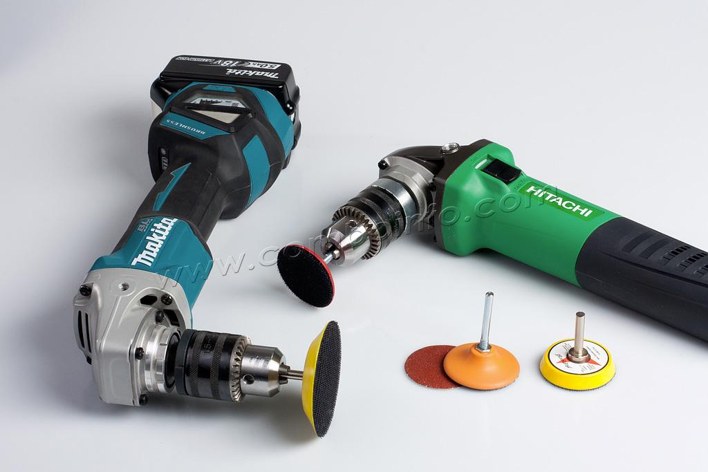 powertool for wood grinding