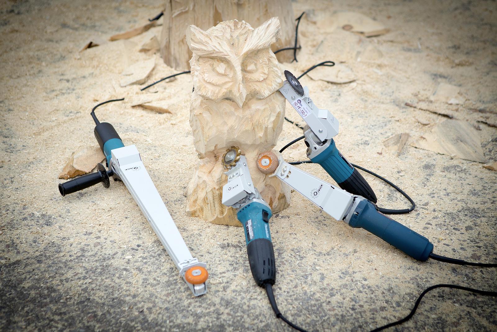 Комбо Wood гриндер по дереву