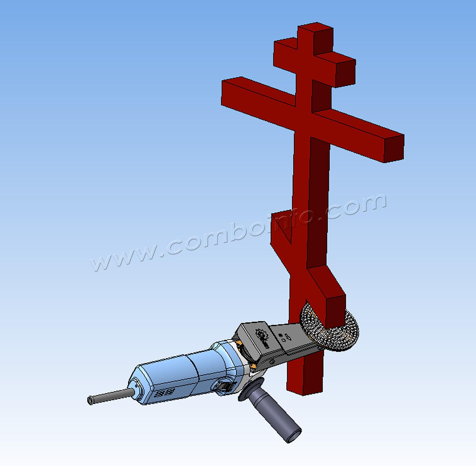 Полировка православного креста