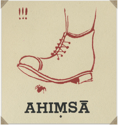Our ego our biggest enemy. Yes Ahisma means not harming others, but more importantly ourselves.