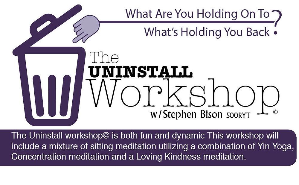 The Uninstall Workshop #Iam1busybuffalo