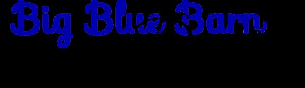 Big Blue Barn Designs Logo