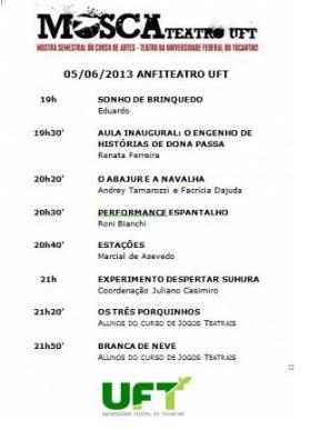 UFT - Aula inaugural Eng. Dona Passa