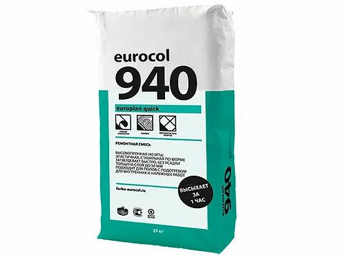 Ремонтна суміш Forbo Europlan Quick 940 (25кг)