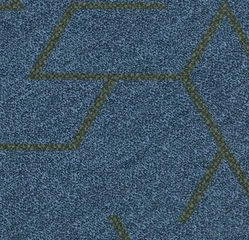 Ковролін в планках Flotex triad 131 002 blue