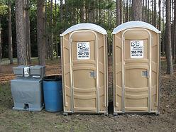 Potrable toilets, nh