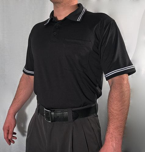 Evans Signature Umpire Shirt - BLACK