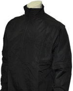 Convertible Umpire Jacket - BLACK