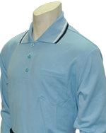Long Sleeve Classic Umpire Shirt - POWDER BLUE