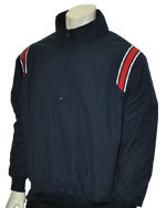 Classic Umpire Jacket - NAVY & RED