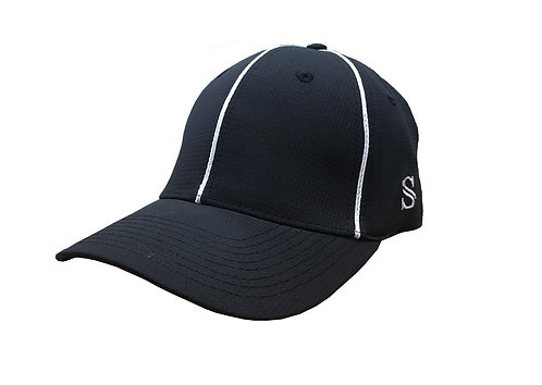 Black Performance Flex Fit Hat