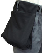 Deluxe Expandable Ball Bag - BLACK