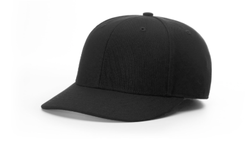Fitted Base Hat - BLACK