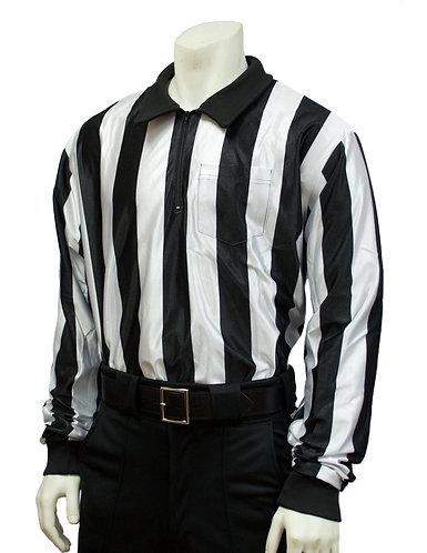 "2"" Stripe Water Resistant Long Sleeve Shirt"