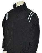 Thermal Fleece Umpire Jacket - BLACK & WHITE