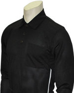 Long Sleeve Pro Series Umpire Shirt - BLACK