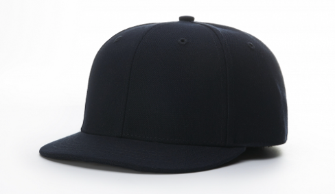 Fitted Plate Hat - NAVY